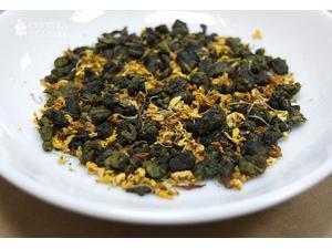 Osmanthus Oolong tea set (loose tea 100gx4boxes)