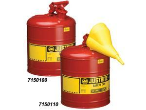 Justrite 5 Gallon Red Type 1 Safety Can