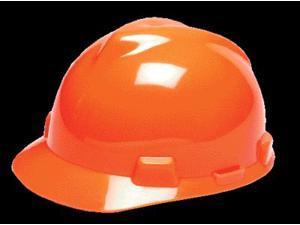 Msa Hard Hat Hi-Visibility Orange  488148