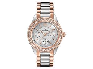 Bulova Womens Crystal 98N100 Watch