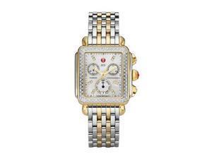 Michele Signature Deco Chronograph Diamond Ladies Watch MWW06P000108
