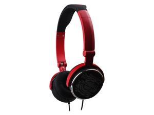 G-Cube iHP Pop-G Dual Mode Foldable Headset w/ Built-In Mic - Red