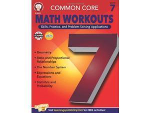 Carson Dellosa CD-404221 Gr 7 Common Core Math Workouts