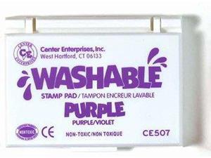 CENTER ENTERPRISES CE-507 STAMP PAD WASHABLE PURPLE
