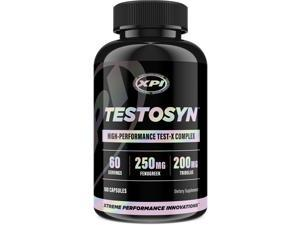 Testosyn - High Performance Testosterone Booster Supplement, 180 Count