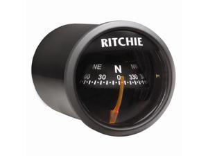 Ritchie X-21BB Compass - Dash Mount - Black/Black