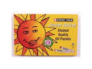 Cray-Pas Jr. Artist Oil Pastels 50/Pkg-