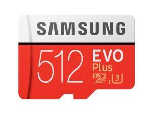 Samsung EVO Plus 512 GB Class 10/UHS-I (U3) microSDXC