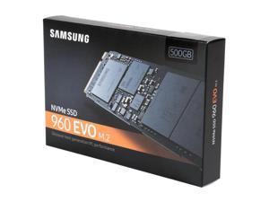SAMSUNG 960 EVO M.2 500GB NVMe PCI-Express 3.0 x4 Internal Solid State Drive (SSD) MZ-V6E500BW