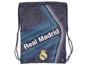 Real Madrid Soccer One Size Cinch Backpack by Rhinox Group Official Team Fan Gear