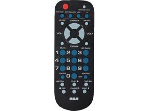 RCA RCU504BR Universal Black Universal Remote 4 Function