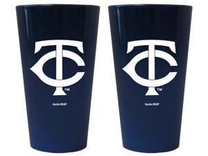 Minnesota Twins Lusterware Pint Glass - Set of 2
