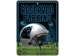 Carolina Panthers Official NFL Metal Parking Sign by Rico Industries 549909