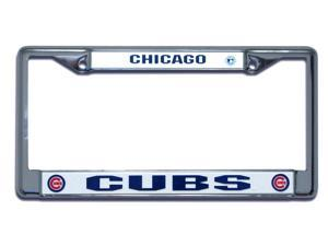 Chicago Cubs Official MLB License Plate Frame by Rico Industries 107369