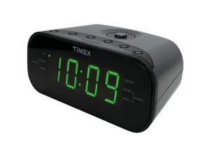 Timex(R) Audio T231GRY2 AM/FM Dual Alarm Clock Radio with Digital Tuning (Gunmetal Gray)