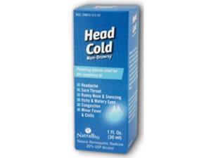 NatraBio Head Cold Relief 1 fl oz