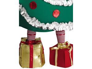 Christmas Tree Costume With Shoe Boxes Adult Standard