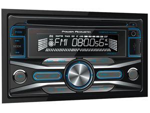 Power Acoustik - PCD52B - Power Acoustik - 2 Din 300 Watt 4 Channel Cd & Mp3 Am/fm Receiver With Sd/usb Playback & V2.0