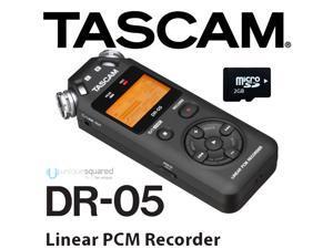Tascam DR-05 Portable MicroSD/MicroSDHC Handheld Recorder in MP3/WAV Format