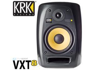 "KRK VXT8 8"" Active Studio Monitor Speaker XLR & TRS Inputs"