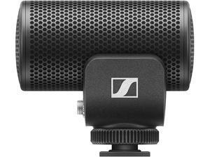 Sennheiser Pro Audio MKE 200 Dynamic Shotgun microphone, Black (MKE200)