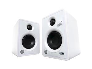 """Mackie CR3-X Creative Reference Series 3"""" Multimedia Monitors 50W Amplifier (Pair, Limited-Edition White)"""