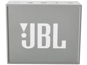 JBL GO Portable Wireless Bluetooth Speaker with Built In Strap Hook (Gray)