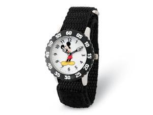 Disney Boys Mickey Mouse w/Moving Arms Time Teacher Watch
