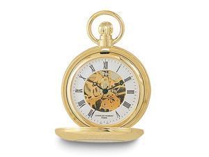 Charles Hubert Gold Finish Pocket Watch