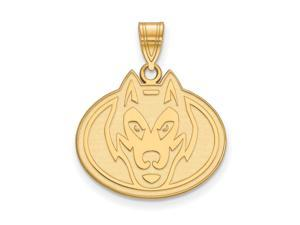 NCAA 14k Gold Plated Silver St. Cloud State Large Pendant