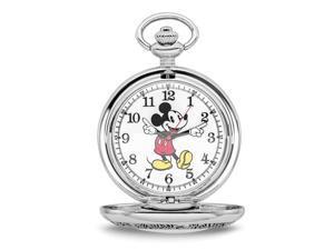 Disney Mickey Mouse w/Chain Pocket Watch