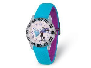 Disney Girls Vampirina & Demi Blue Strap Acrylic Time Teacher Watch