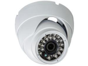 Eyemax TIB-2022-WW28 1080P In/Outdoor IR Turret Camera, 2.8mm Wide 12V DC white