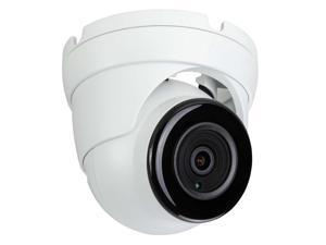 Eyemax NIU-P4122-WW28 4MP Network IP, In/Outdoor IR Turret Camera, 2.8mm 12V DC white ( Made In Korea )