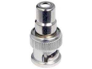 1 BNC Male to 1 RCA Female Connector
