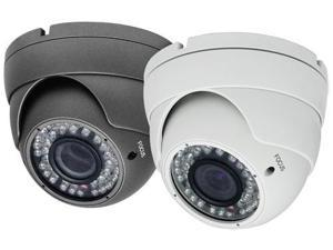650TV Lines 2.8 ~ 12mm Vari-Focal Lens 42IR Weatherproof Color Infrared Dome Camera ( White, 12V DC )