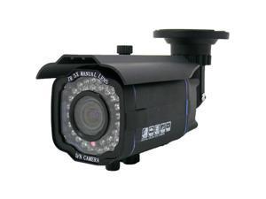 "700 TVL IR Bullet Camera - SONY 1/3"" Super HAD CCD II, SONY Effio-E DSP, 2.8 ~ 12mm varifocus lens, 42 pcs IR LEDs, DC 12V Input, LT-R8270, Black"