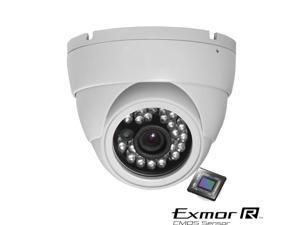 1000TVL 720P Eyeball Turret Vandal IR Night Vision 3.6mm ATR UTC OSD 3D Camera
