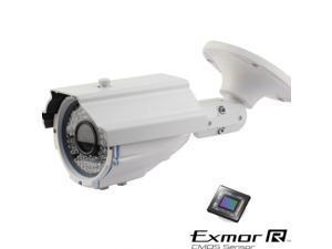 CCTV Security Camera 1000TVL 720P Bullet IR Sony 1.3 Mega Pixel 2.8-12mm ATR UTC OSD 3D DNR 42Leds