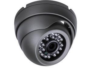 XIB 1022-B HD-SDI eyeball dome IR security camera, 1080p 2 MP, 3.6mm, 24 IR, Gray