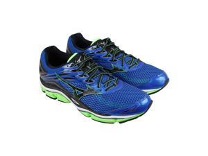 Mizuno Wave Enigma 6 Blue Black Green Mens Athletic Running Shoes