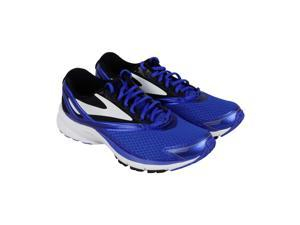 b322739475a83 Brooks Launch 4 Blue Black White Mens Athletic Running Shoes