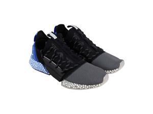 7780d055b034 Puma Hybrid Rocket Runner Quiet Shade Black Strong Blue Mens Athletic  Running Shoes