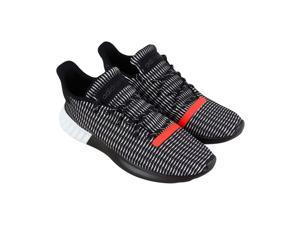 c9f9a2475400 Adidas Tubular Dusk Black Solar Red White Mens Sneakers Low Top Shoes