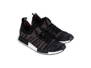 92bd7cfe8e2f Adidas Nmd R1 Stlt Pk Core Black Grey Mens Sneakers Low Top Shoes