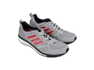 c50202dac9f2f5 Adidas Adizero Tempo 9 M Grey Two Hires Red Mens Athletic Training Shoes