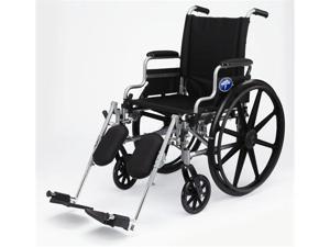 Medline MDS806500E K4 Basic Lightweight Wheelchairs Case Of 1 EA