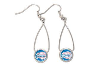 """Los Angeles Clippers Official NBA 2"""" long Earrings by Wincraft"""