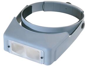 "OptiVISOR LX Binocular Magnifier-Lensplate #7 Magnifies 2.75X At 6"""