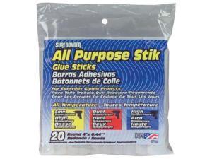 "Surebonder Hot Melt Glue Sticks All Temps 4"" 20/PK DT20"